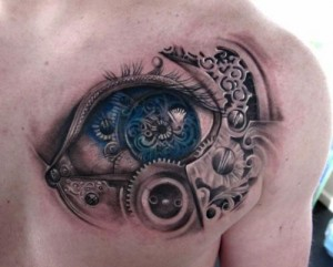 Biomech Tattoo