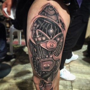 Biomech Tattoo Pictures