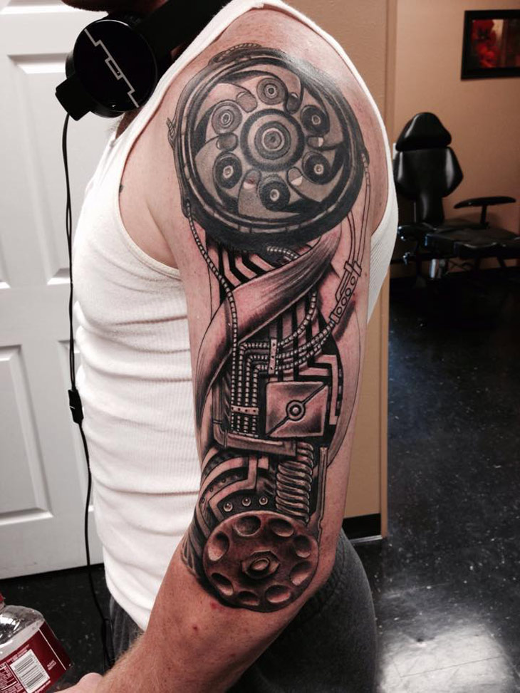 Biomech Tattoos Designs, Ideas and Meaning