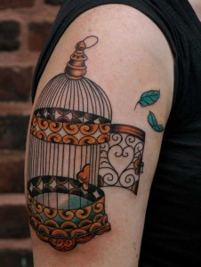 Bird Cage Tattoo