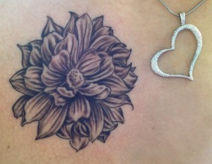 Black Dahlia Tattoo