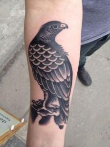 Black Hawk Tattoo