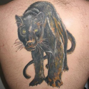Black Jaguar Tattoo