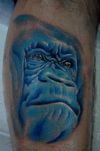 Blue Gorilla Tattoos