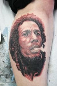 Bob Marley Tattoo Designs