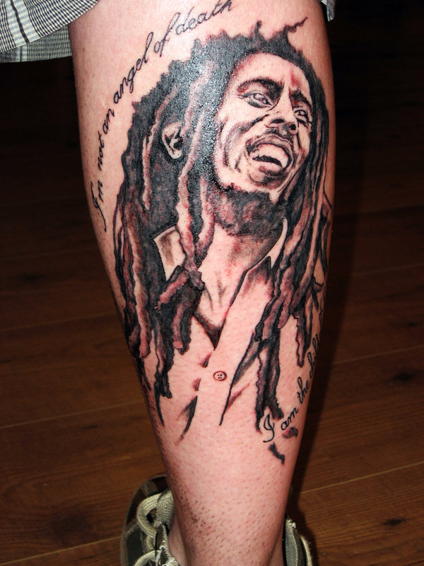 Bob marley tattoos designs ideas and meaning tattoos for Bob marley tattoo