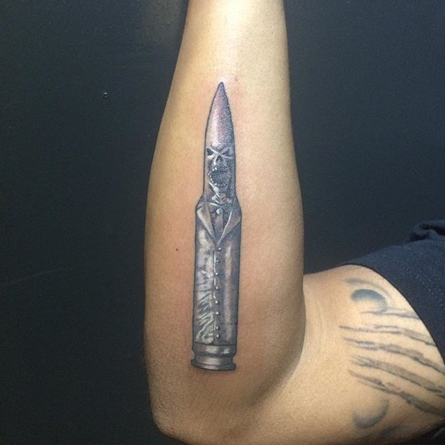 Gun Tattoos Meanings Designs And Ideas: Bullet Tattoos Designs, Ideas And Meaning