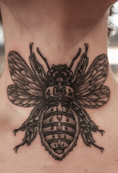 Bumble Bee Tattoos Designs, Ideas and Meaning | Tattoos ...