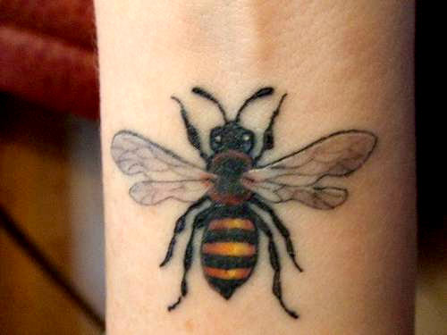 Honey Bee Tattoo Designs: Bumble Bee Tattoos Designs, Ideas And Meaning