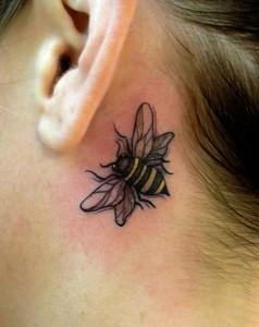 Bumble Bee Tattoos Designs