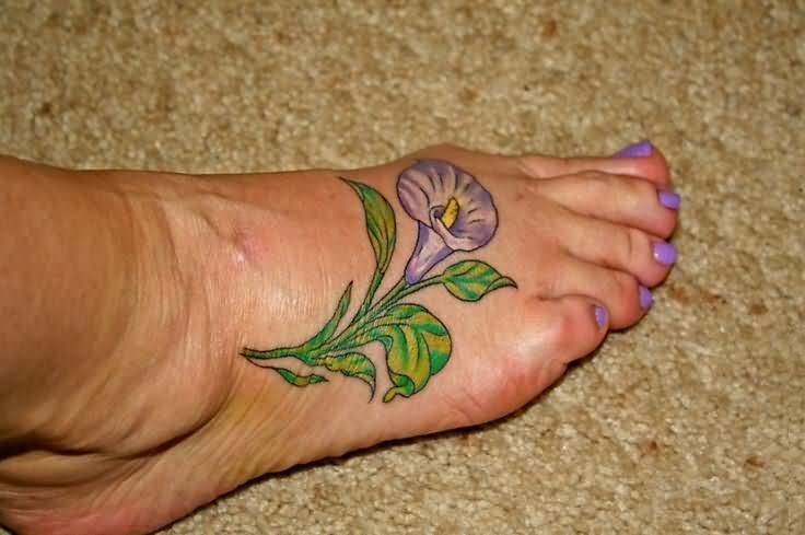 Calla Lily Tattoos Designs, Ideas and Meaning | Tattoos ...