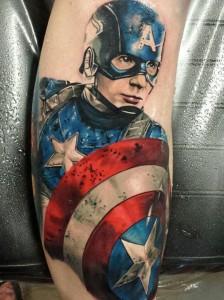 Captain America Tattoo Images