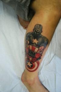 Captain America Tattoos for Women