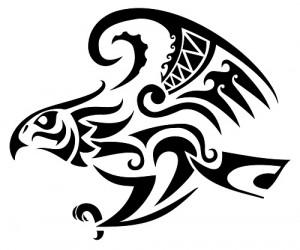 Celtic Hawk Tattoo