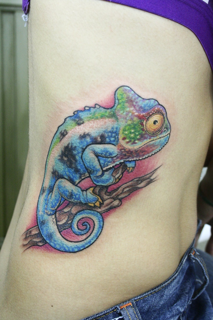 Designs For A Tarot Deck Celebrating: Chameleon Tattoos Designs, Ideas And Meaning