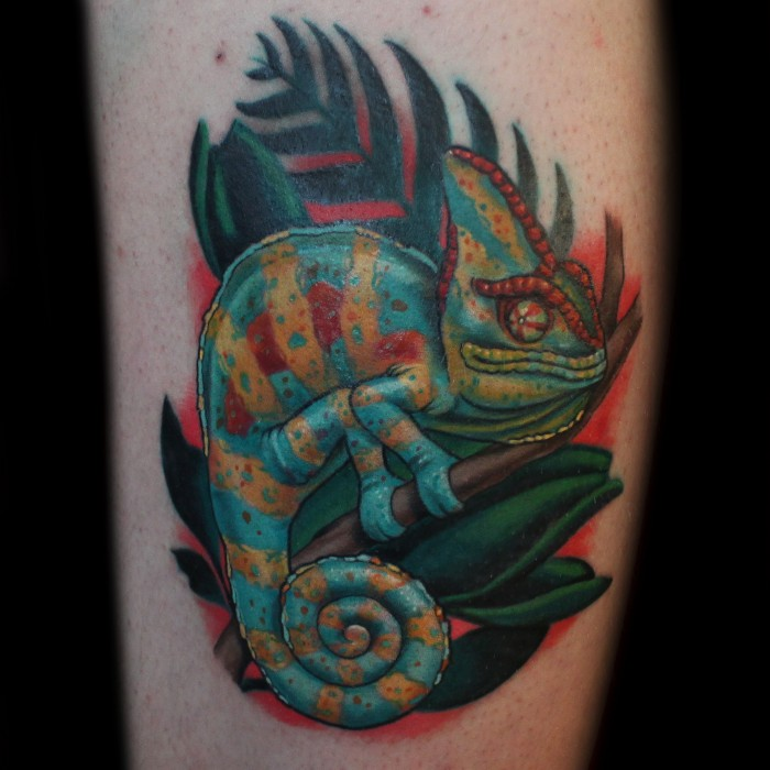 Chameleon Tattoo Designs: Chameleon Tattoos Designs, Ideas And Meaning