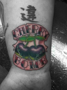 Cherry Bomb Tattoo Images