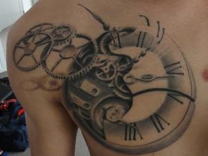 Clock Gears Tattoo