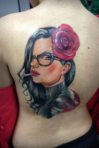 Color Realism Tattoo