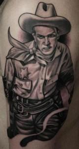 Cowboy Tattoo