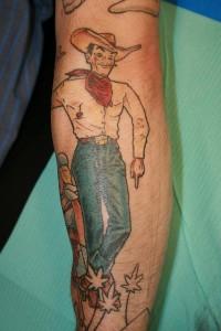 Cowboy Tattoo Ideas