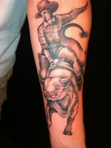Cowboy Tattoo Pictures