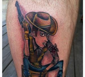 Cowboy Tattoos Designs