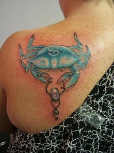 Crab Tattoo Ideas