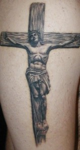 Crucifix Tattoo