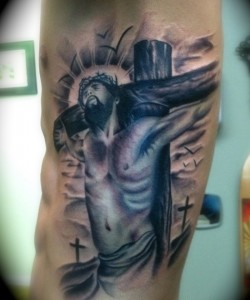 Crucifix Tattoo Images