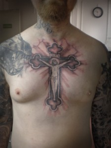 Crucifix Tattoo Pictures