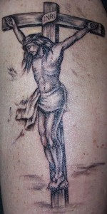 Crucifix Tattoos