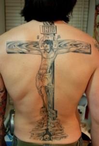 Crucifix Tattoos for Men