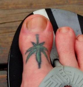 Cute Marijuana Tattoos