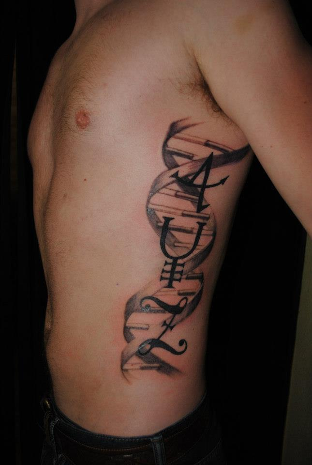 DNA Tattoos Designs, Ideas and Meaning | Tattoos For You | 645 x 960 jpeg 46kB
