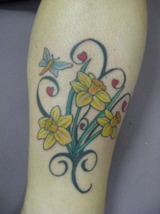 Daffodil Tattoo Images