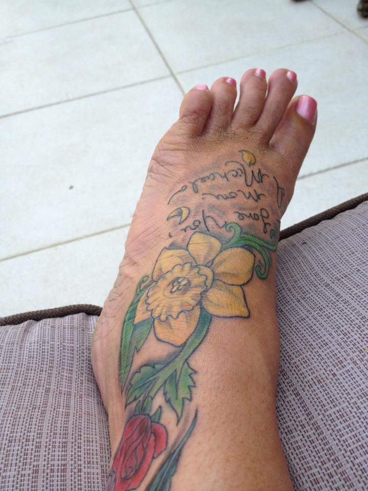 Daffodil Tattoos Designs Ideas And Meaning Tattoos For You