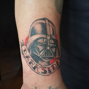 Darth Vader Tattoo Simple