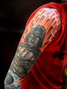 Darth Vader Tattoo Sleeve