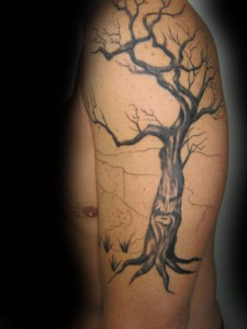 Dead Tree Tattoo Pictures