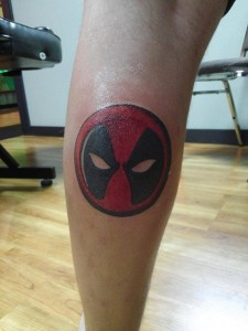 Deadpool Symbol Tattoo