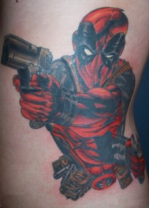 Deadpool Tattoo Ideas