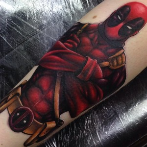 Deadpool Tattoo for Women