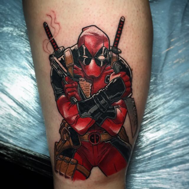 Gun Tattoos Meanings Designs And Ideas: Deadpool Tattoos Designs, Ideas And Meaning