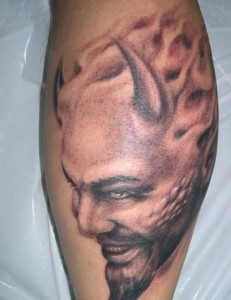 Devil Horns Tattoo