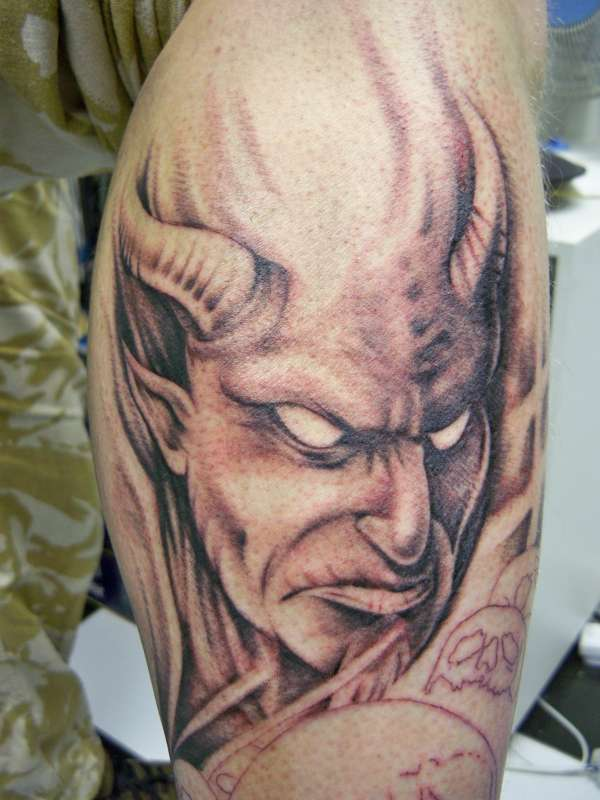 Devils and Demons | Tattoos by Spencer - Thailand |Evil Devil Tattoos