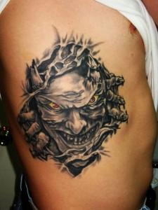 Devil Tattoos Images