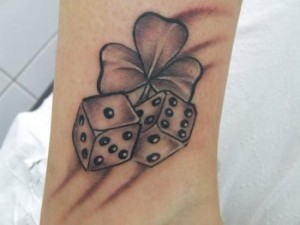 Dice Tattoo Designs