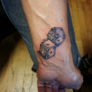 Dice Tattoos Images