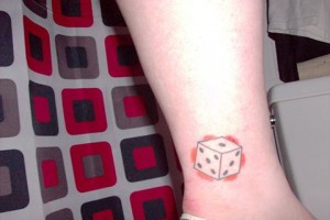 Dice Tattoos for Girls